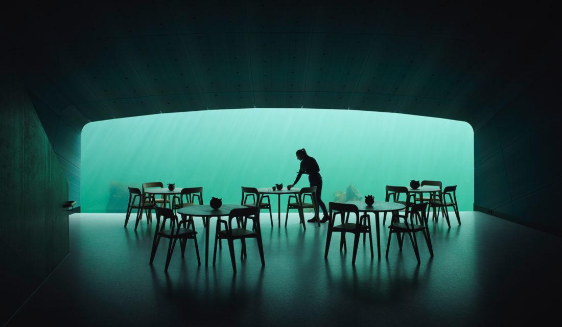Ivar Kvaal Photographs Europe's First Restaurant On The Sea Floor