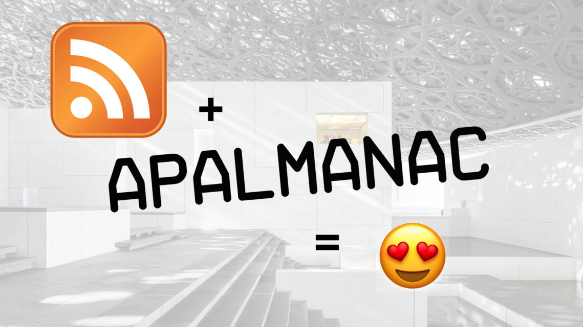 RSS Feed Now Available On APAlmanac