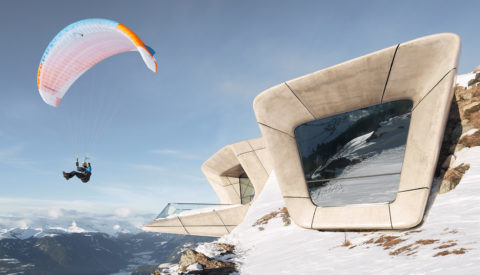 Kevin Scott Photographs A Museum Perched in the Dolomites