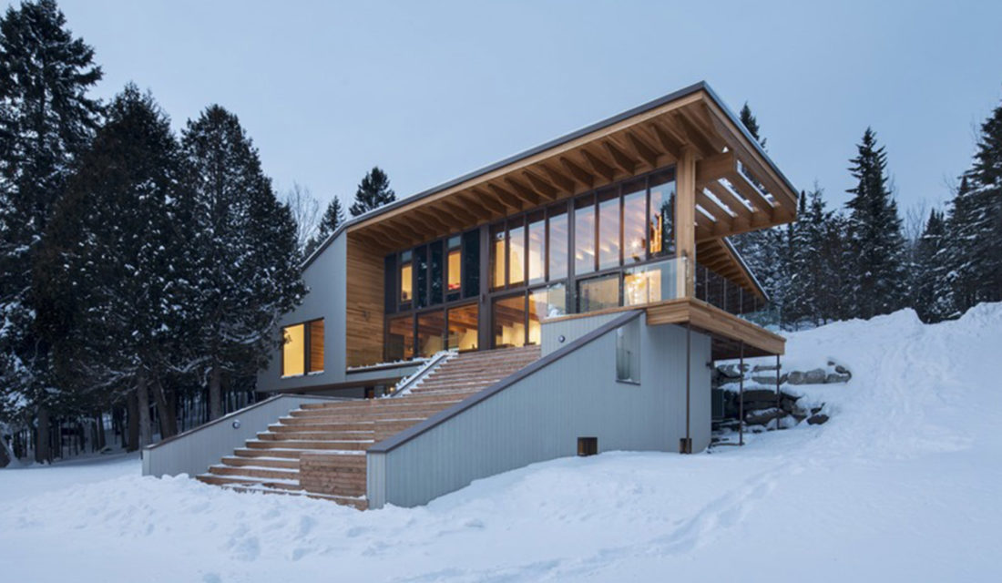 Photographing a Home on the Shore of Lac St-François With Adrien Williams