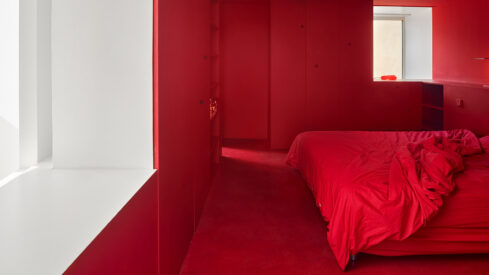 Eugeni Pons Adds Life to A French Office Through Models and Color