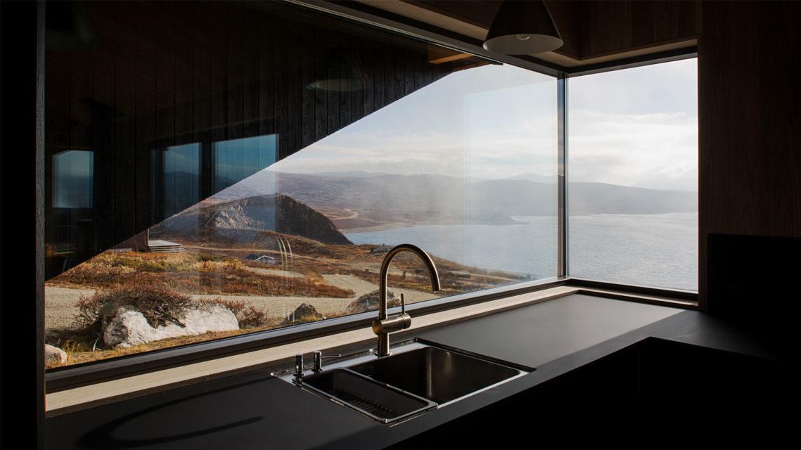 Norwegian Photographer Marte Garmann Photographs A Foggy Mountainside Cabin