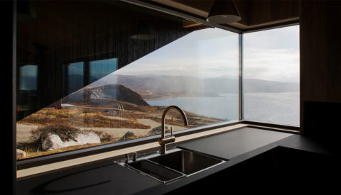 Norwegian Photographer Marte Garmann Photographs A Foggy Mountainside Cabin