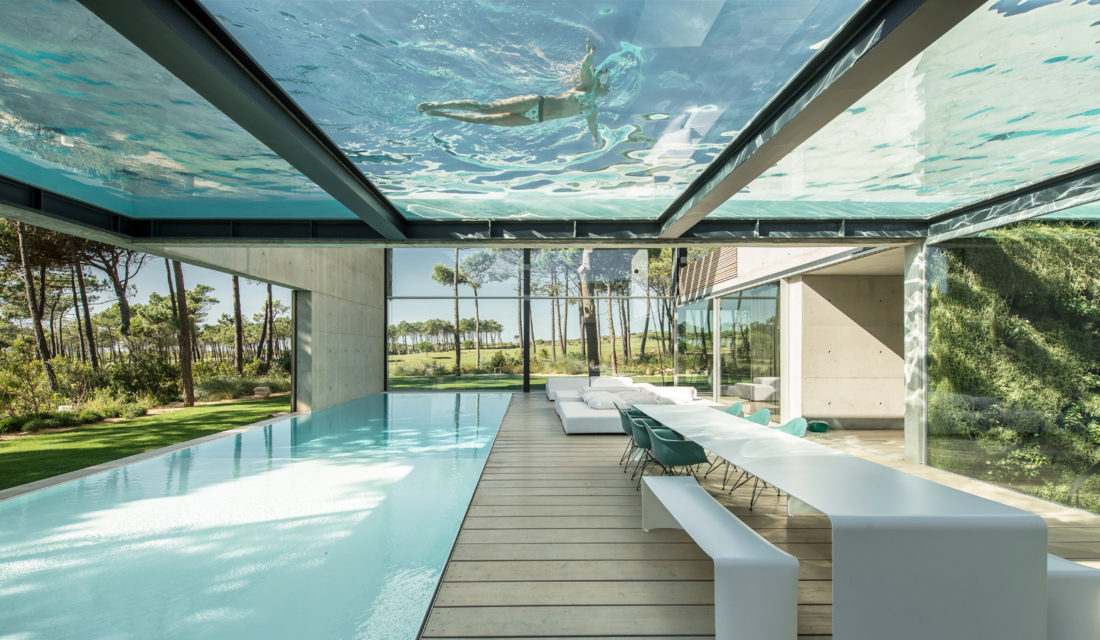 Ricardo Oliveira Alves Photographs A Home With Epic Dual Pools in Portugal