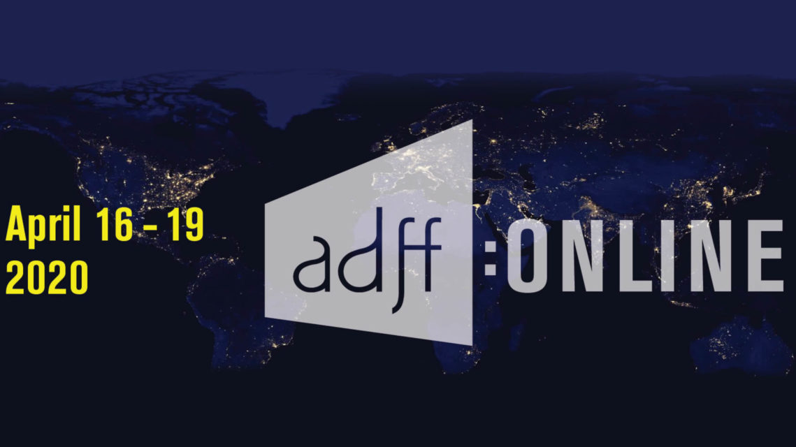 ADFF:Online – Four Architectural Films, Screened over Four Days