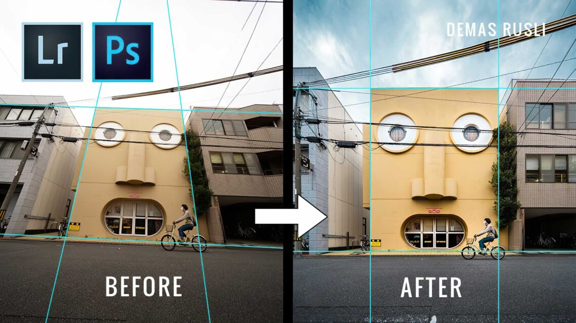 How to Straighten Your Images in Photoshop and Lightroom