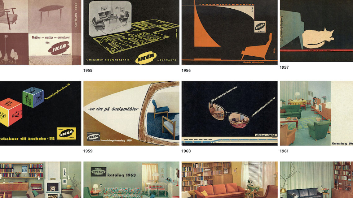 Taking A Trip Down Memory Lane; Exploring Ikea's 70 Years of Catalogues