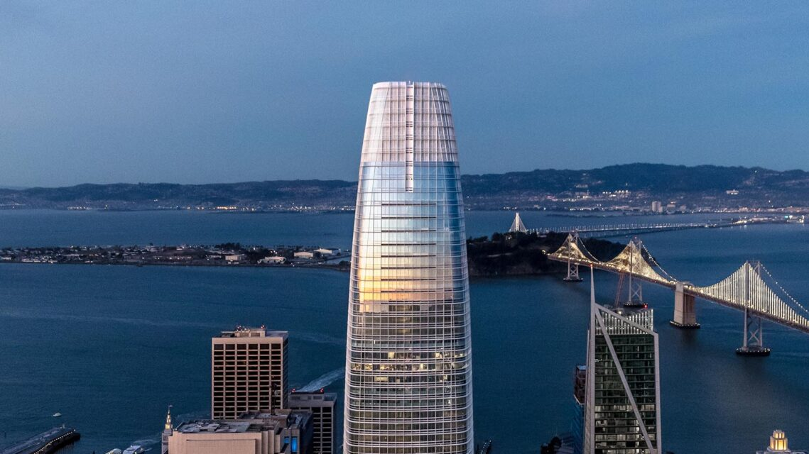 Jason O'Rear Conjures Helicopters and Magic to Photograph the Salesforce Tower