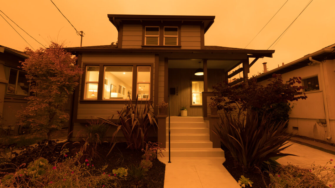 Photographing Homes While California is Choked in Wildfire Smoke