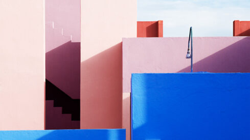Take an Abstract Tour of La Muralla Roja With Swedish Photographer Jeanette Hägglund