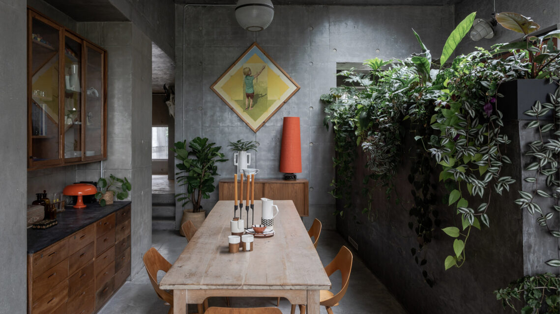Architectural Photography Studio Tarry & Perry are the First to Document the Completed 'Concrete House' as Featured on Grand Designs