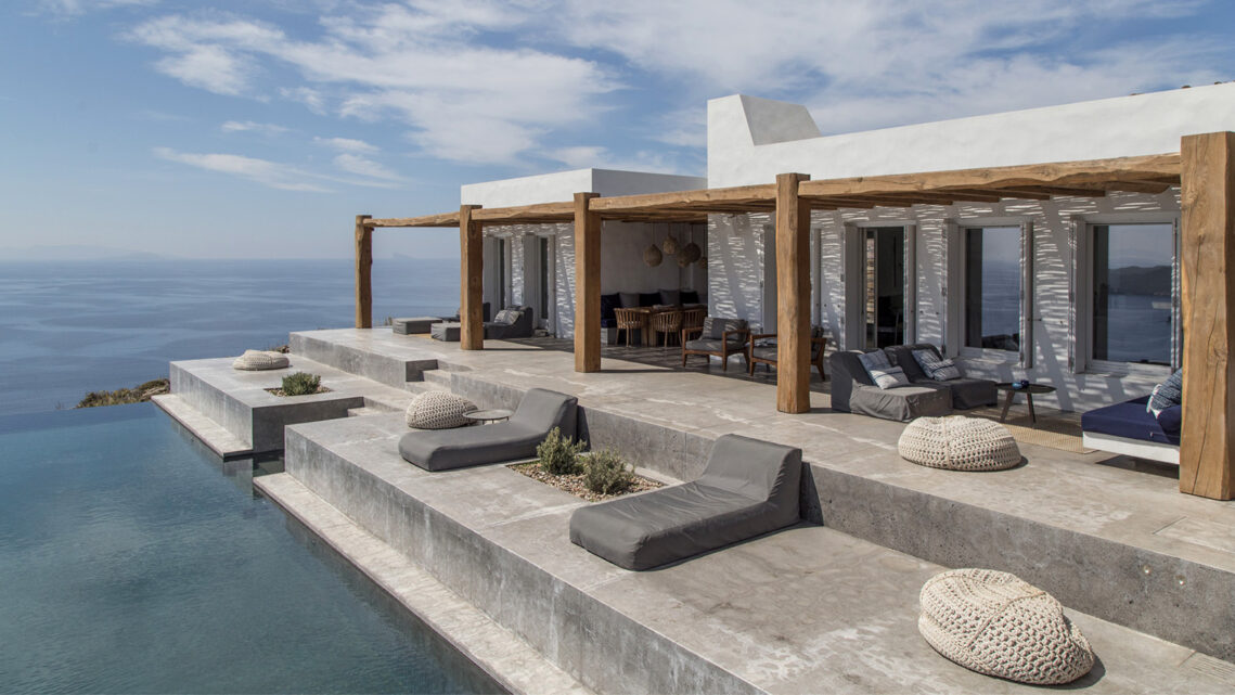 A Perfect Greek Hilltop Villa Photographed by Athens Based Ioanna Roufopoulou