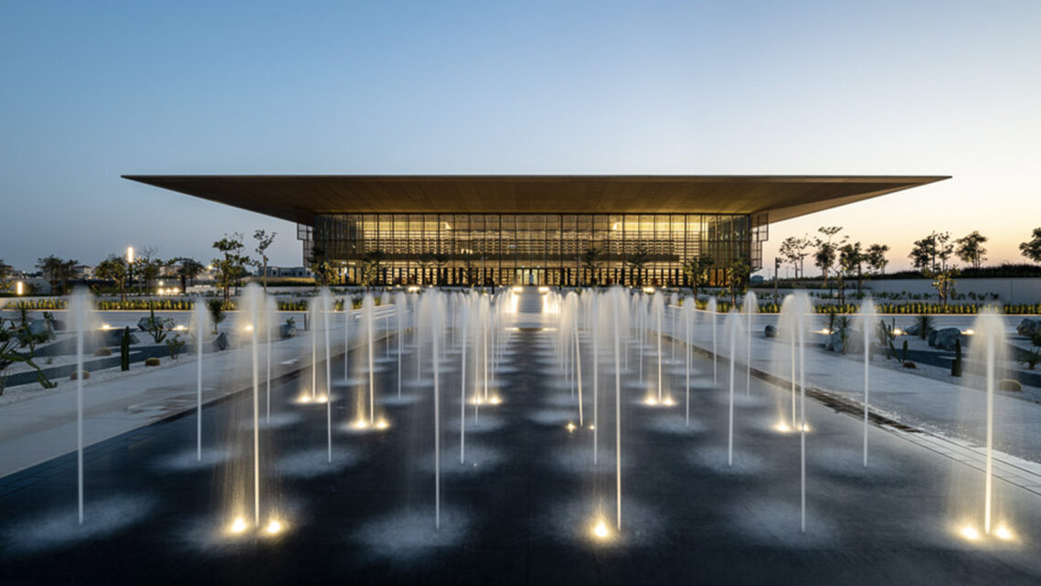 Catalin Marin of Momentary Awe Documents Foster and Partners New 'House of Wisdom' in Sharjah