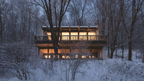 Check Out This Snow Laced Home in Quebec With Raphaël Thibodeau
