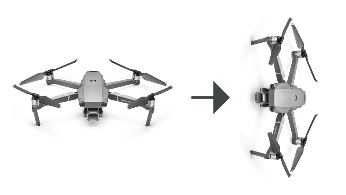 Ever Wanted To Take Vertical Photos With Your Drone? Here's The Work-Around!