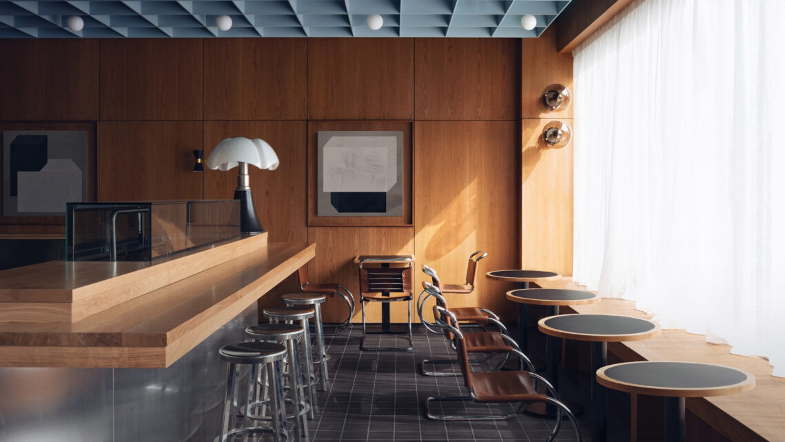 Photographing A Former Post-Office- Turned-Sushi-Spot With Interiors Photographer Felix Speller