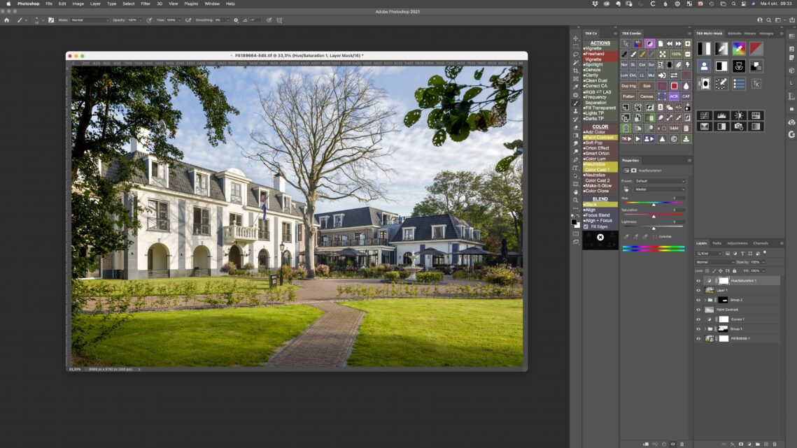 Customizing the New TK8 Plugin and Your Photoshop Workspace